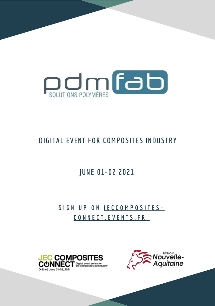 PDMfab participates in JEC COMPOSITES CONNECT
